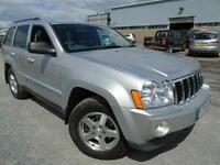 2006 Jeep Grand Cherokee 3.0CRD V6 auto Limited - Silver - Platinum warranty/MOT