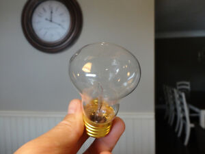 I have 72 of these to sell -New 40 watt 120v Mushroom Type Bulbs Kitchener / Waterloo Kitchener Area image 1