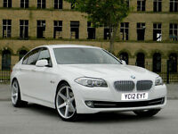 2012 12 BMW 5 SERIES 3.0 535 ActiveHybrid 4dr WITH PRO SATNAV+XENONS+DAB+LEATHER