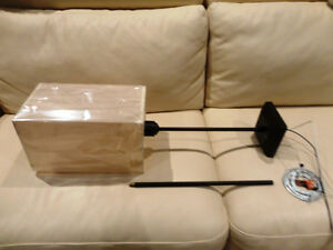 Brand New Light Brown Rectangle Shade Light Fixture Kitchener / Waterloo Kitchener Area image 1