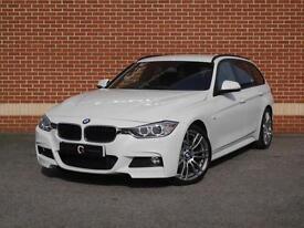 2014 14 BMW 3 Series 320d M Sport Touring 5dr (start/stop) (White, Diesel)