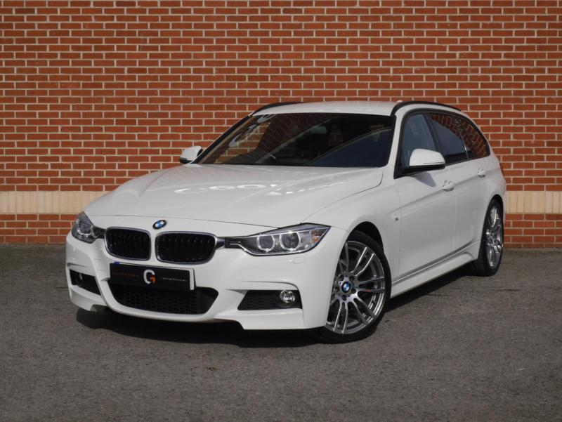 2014 14 bmw 3 series 320d m sport touring 5dr start stop white diesel in ripley. Black Bedroom Furniture Sets. Home Design Ideas