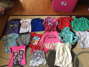 57 items - Girls Brand Name Clothing Lot - Size 7/8