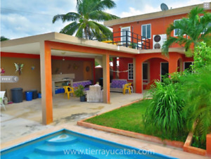 Beautiful Home for Sale in Chicxulub Yucatan Mexico Near Beach