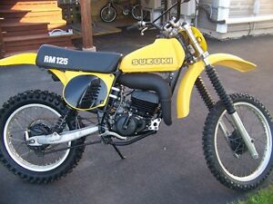 *(11KM)* 1978 RM 125 IN SHOWROOM  CONDITIONS