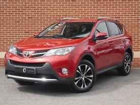 2015 15 Toyota RAV4 2.0 D-4D Icon AWD 5dr (Red, Diesel)