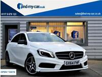 2014 64 Mercedes-Benz A200 2.1CDI ( 136ps ) 7G-DCT AMG Sport 1 OWNER with FSH