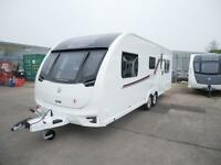Swift Challenger 640- 2016 model. 6 berth twin axle caravan