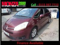 CITROEN GRAND C4 PICASSO 2.0HDi AUTOMATIC EGS EXCLUSIVE NIL DEPOSIT FINANCE