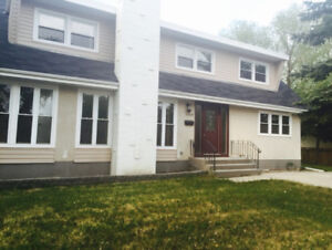 Five bdr Four bathrooms 2-story house in South for rent