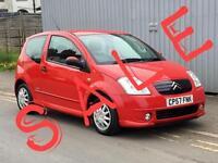 2007 CITROEN C2 1.1i Furio new MOT low insurance