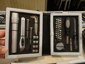Selling a Few Brand New Multi Tool Leather Look Kits -Cool Gifts Kitchener / Waterloo Kitchener Area image 5