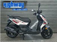 2020 Sym Crox 125 EFI Sports Scooter Learner Legal Latest Model P/X Welcome