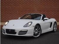 2012 12 Porsche Boxter 2.7 981 Convertible PDK 2dr (White, Petrol)