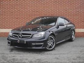 2011 61 Mercedes-Benz C Class 6.3 C63 AMG Edition 125 7G-Tronic (Black, Petrol)