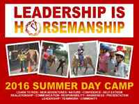 CAMP - Leadership is Horsemanship Summer Day Camp