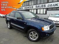 2006 Jeep Grand Cherokee 3.0CRD V6 auto Limited - Platinum Warranty!