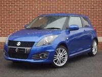 2016 66 Suzuki Swift 1.6 Sport 3dr (+Nav) (Blue, Petrol)