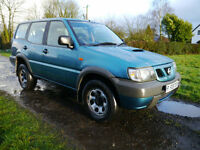 Nissan Terrano 2.7TD S 4X4 Manual 7 Seat Low Mileage