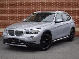 2012 62 BMW X1 2.0 20d xLine xDrive 5dr (Silver, Diesel)