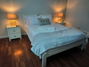 Furnished Executive Rental in Downtown w/ Underground Parking