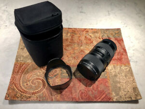 Sigma 18-35 f1.8 DC Art Lens For CANON Camera For Sale