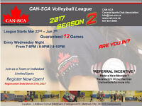 CAN-SCA Volleyball League in Markham