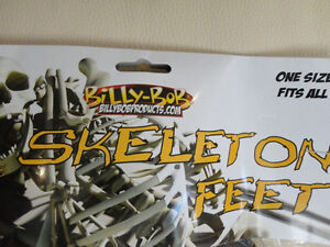 Billy Bob Skeleton Feet - One Size Fits All - Brand New Kitchener / Waterloo Kitchener Area image 3