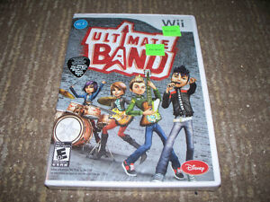 New Sealed WII Ultimate Band Game