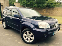2006 56 NISSAN X-TRAIL 2.2 DCI 136 AVENTURA DIESEL WITH FULL LEATHER