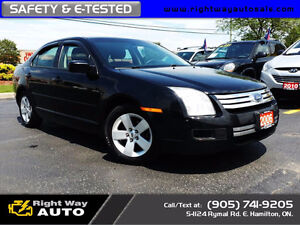 2006 Ford Fusion SE | 184Km | SAFETY & E-TESTED