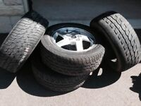 SUMMER TIRES & RIMS (MAGS) *GREAT CONDITION