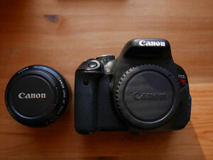 Canon EOS Rebel T3i with Canon EF 50mm f/1.8 lens - $425 Peterborough Peterborough Area image 3