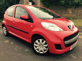2009 09 PEUGEOT 107 1.0 12v URBAN 5 DOOR HATCHBACK