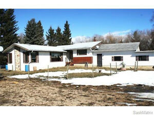 Property located 23km south of Melfort!