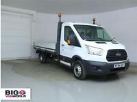 "2014 FORD TRANSIT 350 TDCI 125 L4 SINGLE CAB ""ONE STOP"" ALLOY DROPSIDE DRW DROPS"