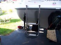 Stainless Steel 2 step boat ladder