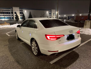 2017 Audi A4 Sedan White - Great Condition - Lease Takeover