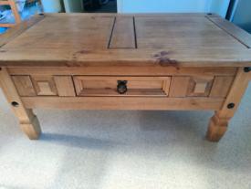 Corona Pine coffee table