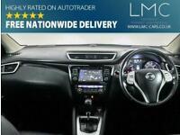 2017 Nissan Qashqai 1.2 TEKNA DIG-T XTRONIC 5d AUTO 113 BHP Hatchback Petrol Aut