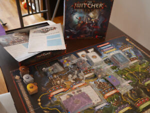 Boardgame: The Witcher - As new