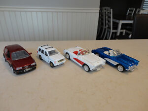 Vintage early 90's Die Cast Cars - In Excellent Shape 1:24 Scale
