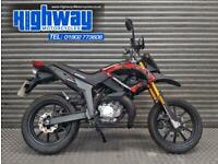 2011 Keeway TX 50 Supermoto AM6 Two Stroke Running Project