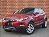 2014 64 Land Rover Range Rover Evoque 2.2 SD4 Pure Tech AWD 2dr (Red, Diesel)