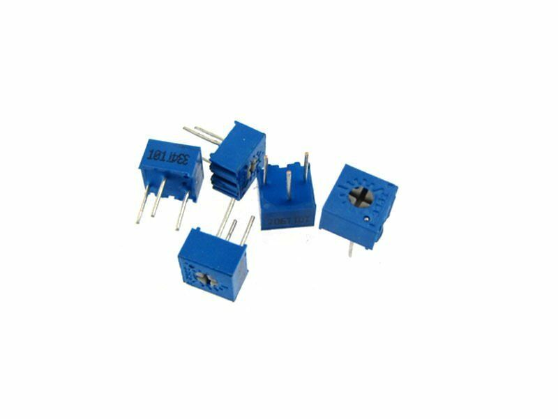 100K Ohm 3362 Trimmer Potentiometers Pot resistor Pack of 10
