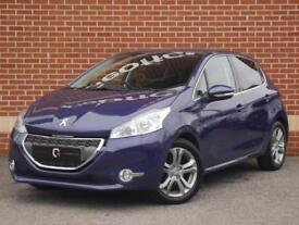 2013 63 Peugeot 208 1.2 VTi Allure 5dr (Blue, Petrol)