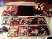 PLAYSTATION 3 FOR SALE WITH 14 GAMES
