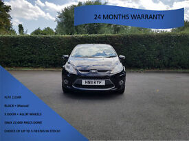 Ford Fiesta 1.25 ( 82ps ) 2011MY Zetec ONLY 27K MILES DONE