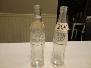 "Vintage Coke Bottles -2 1960 Mae West 10oz & 1-2"" Tall Miniature Kitchener / Waterloo Kitchener Area image 5"