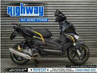 2011 Gilera Runner ST200 'Black Soul' Lots of Extras with Warranty & Full MOT